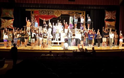 """Sounds of South rehearses """"Pippin"""""""