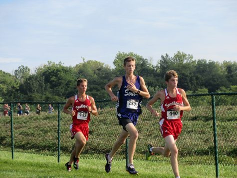 Cross country third in conference