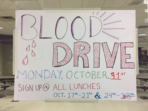 National Honor Society blood drive