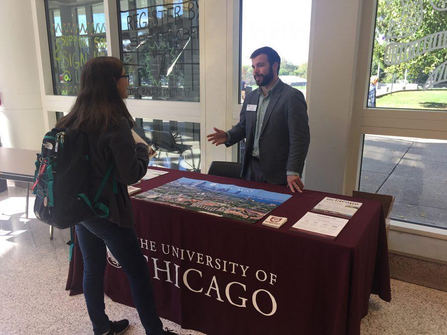 University of Chicago visit