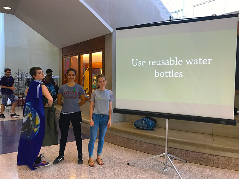 Students hold Earth Day presentation