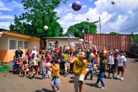 Local organization gives hope through soccer balls