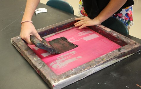 Pop art in printmaking