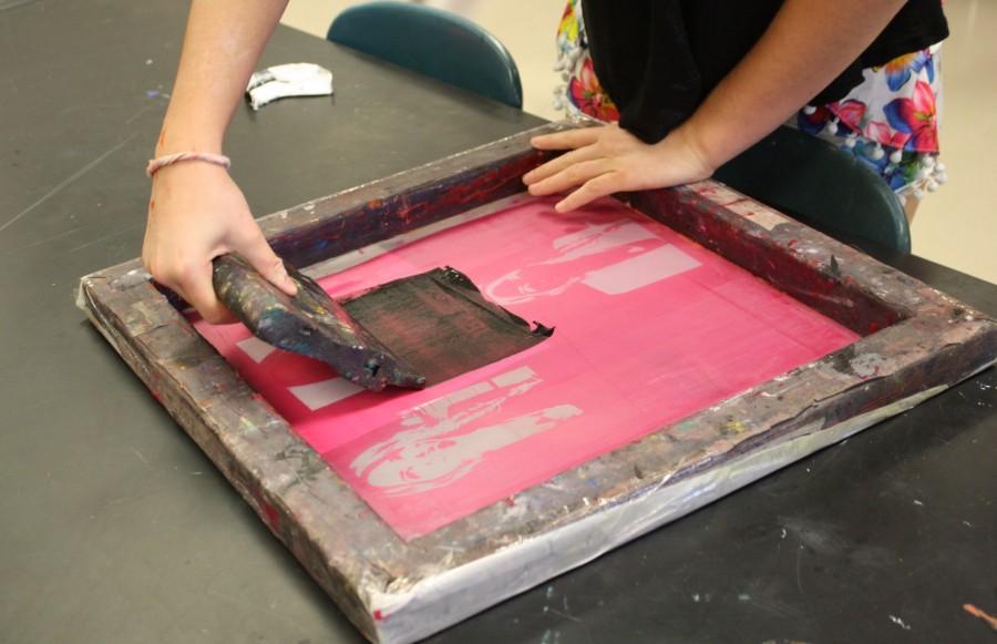 Pop art in printmaking