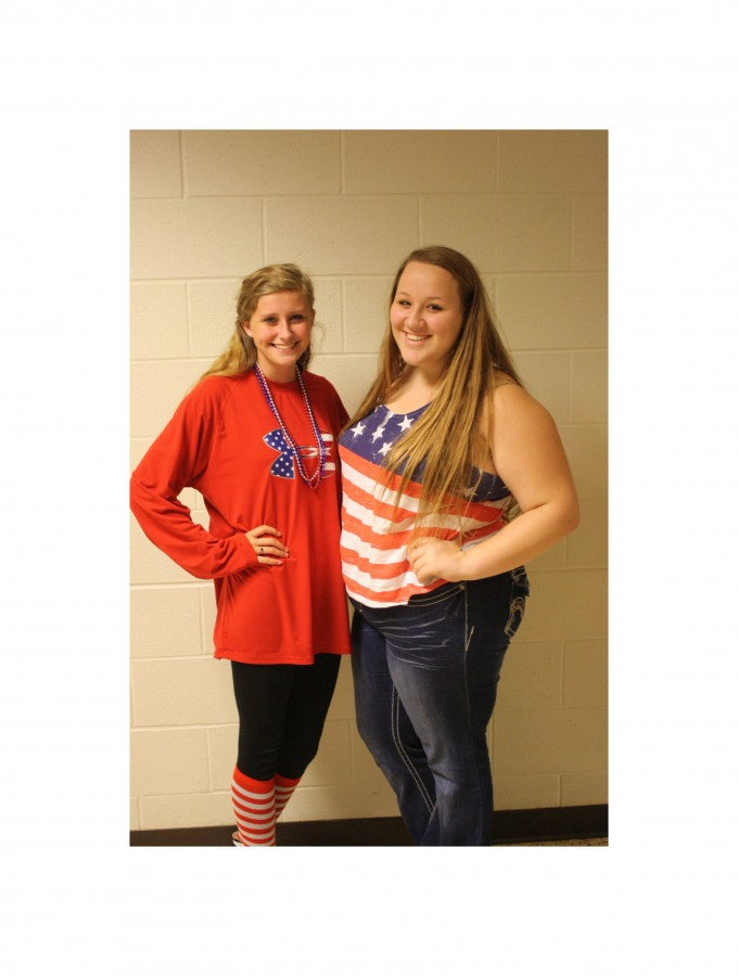 Students dress up for South's spirit week