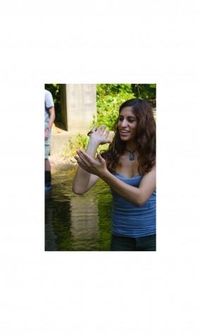 AP Environmental Science takes trip to the creek
