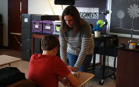 Kara Parker honored as an Armstrong Teacher Educator