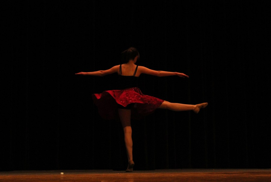 Student performs in South's talent show
