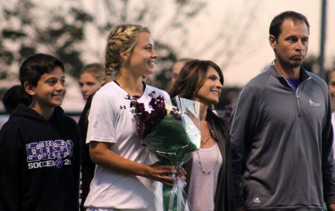 Girls soccer wins on senior night