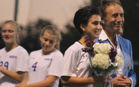 Girls soccer senior night photos