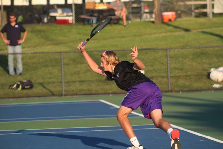 South boys tennis plays Jasper