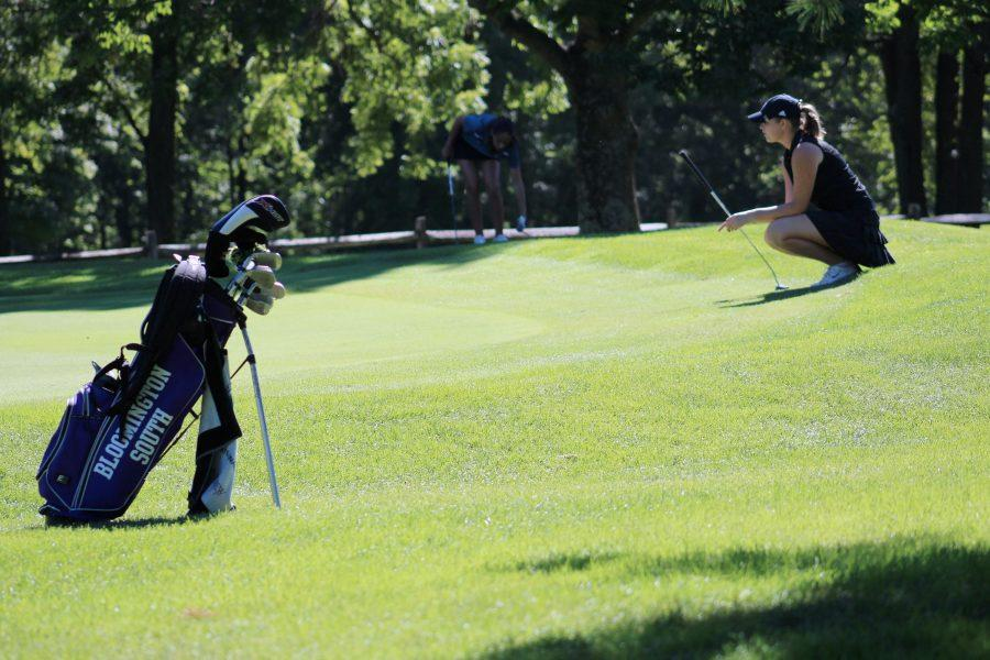 Girls Golf:  Aug 30th (W) : The girls went in full force against the Cougars and edged them in a 173-186 victory.The team was helped significantly helped by junior Madeline Stanik's career best 39.   Sept. 11th (W): At the Conference Indiana tournament, the two teams met again and experienced similar results, with South placing 4th (North settled for 5th) and Stanik receiving All Conference Honors.