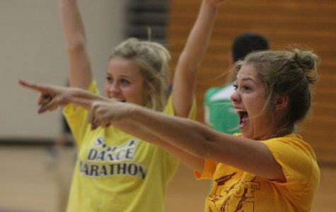 Dance Marathon hosts dodge ball Color Wars