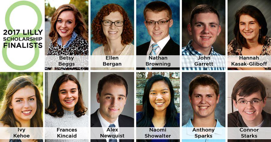 Three South Students finalists for the Lilly Scholarship