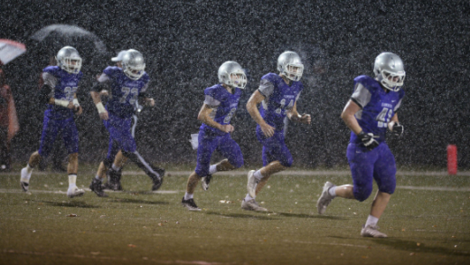 Columbus rains on South's parade