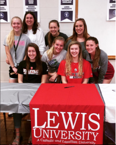 Athletes sign commitment letters