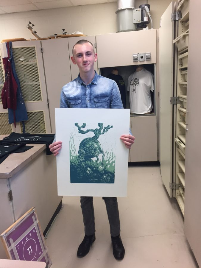 Ben Zumbrun wins Scholastic Art awards