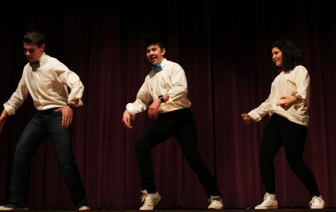 Students dance at the South Talent Show