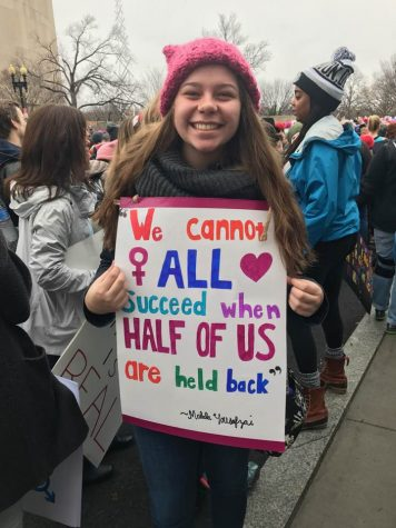 Women's marches draw crowds across the nation