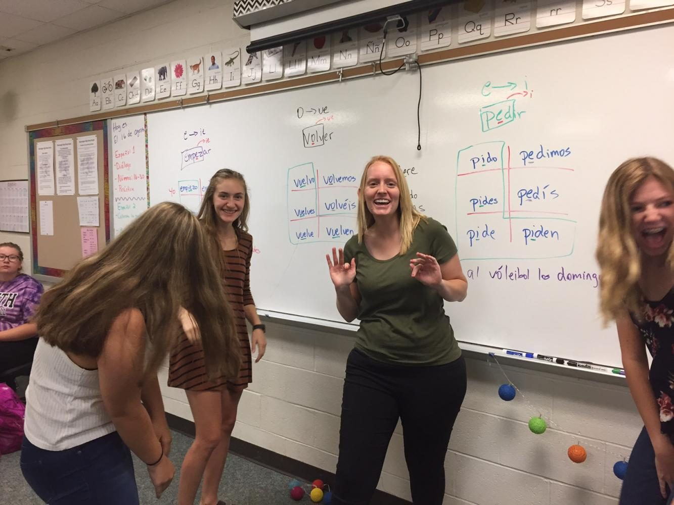South welcomes new Spanish teacher