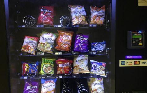 New Snacks In Vending Machines