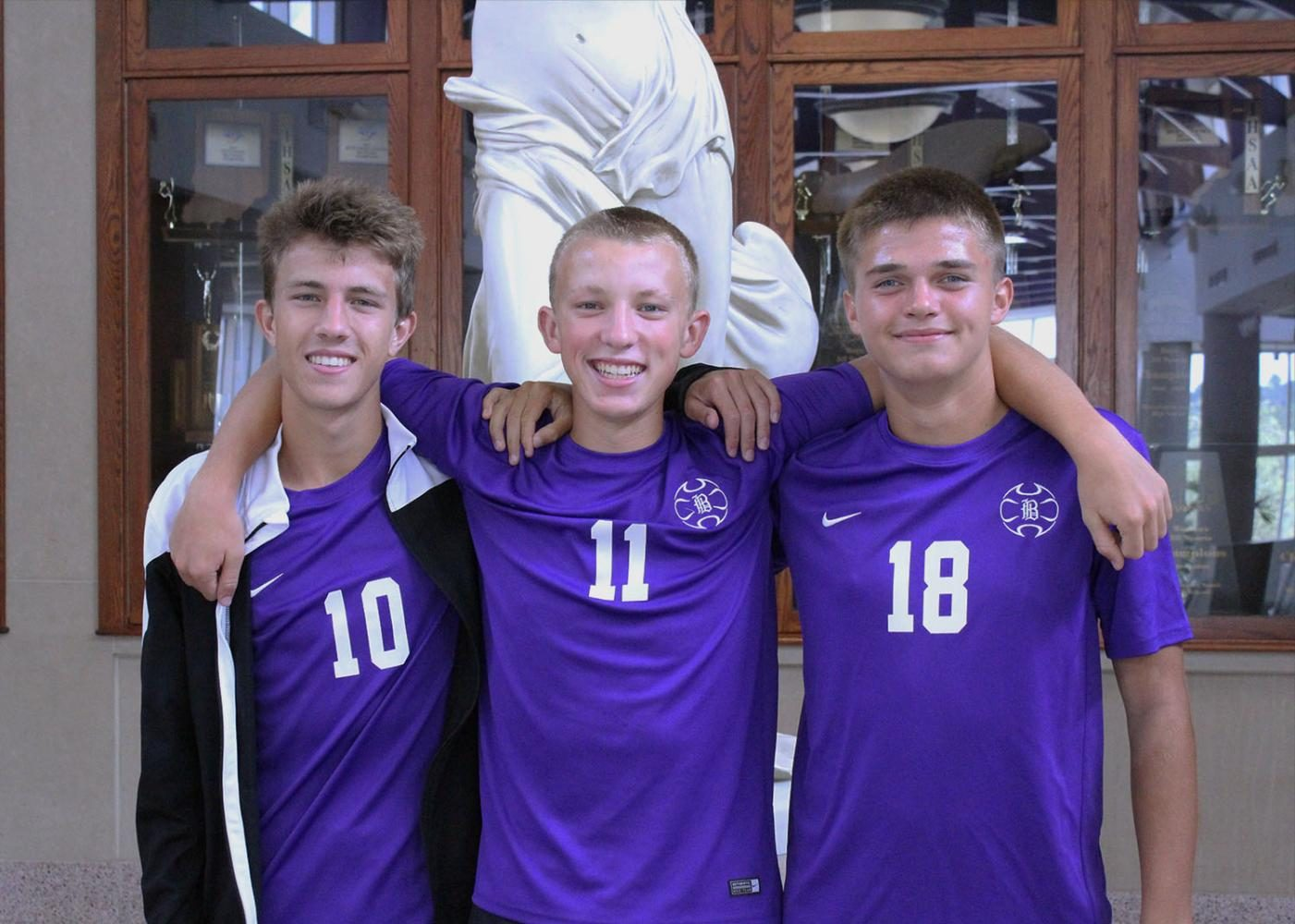 First Boy's Soccer home game tonight at 7:30!