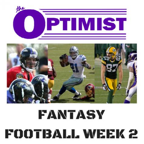 Fantasy Football: Week 2