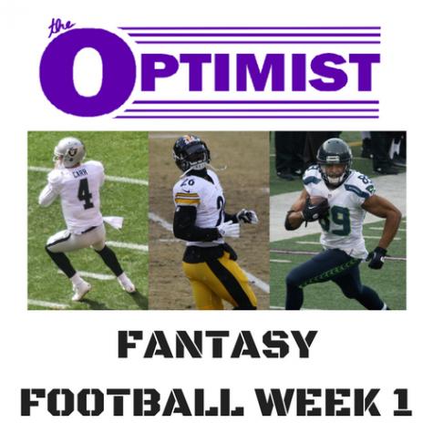 Fantasy Football: Week 1