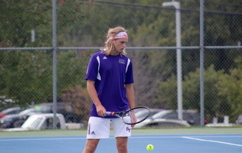 Panther tennis puts up a fight against North (gallery)