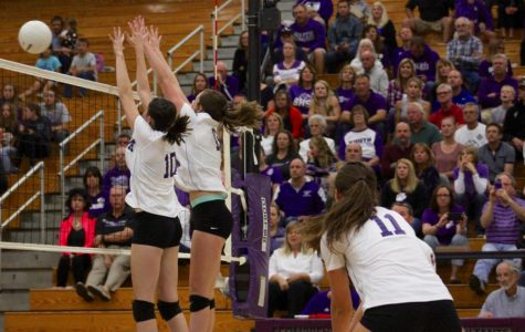 Volleyball team battles hard against North (gallery)