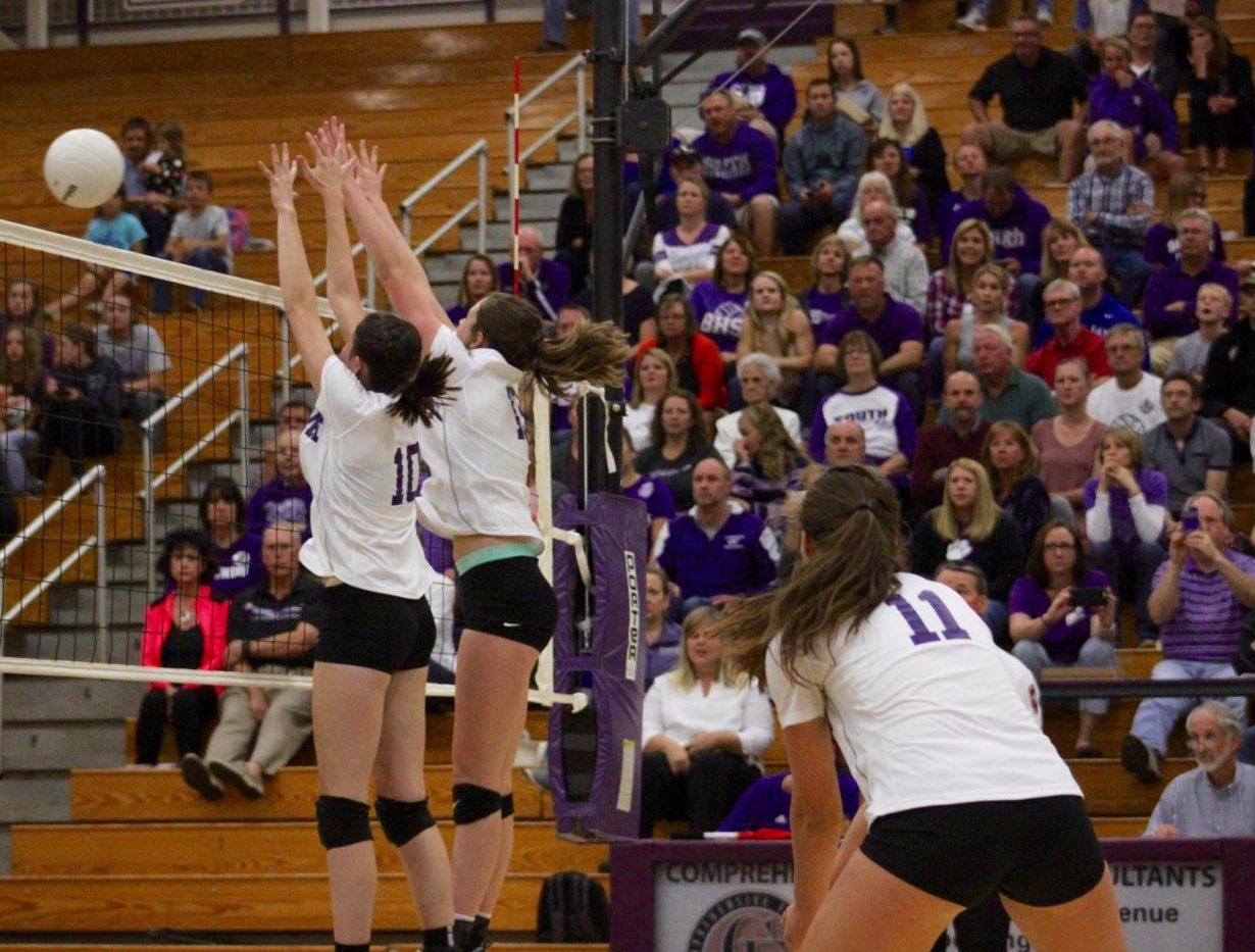 Volleyball team battles hard against North (gallery)
