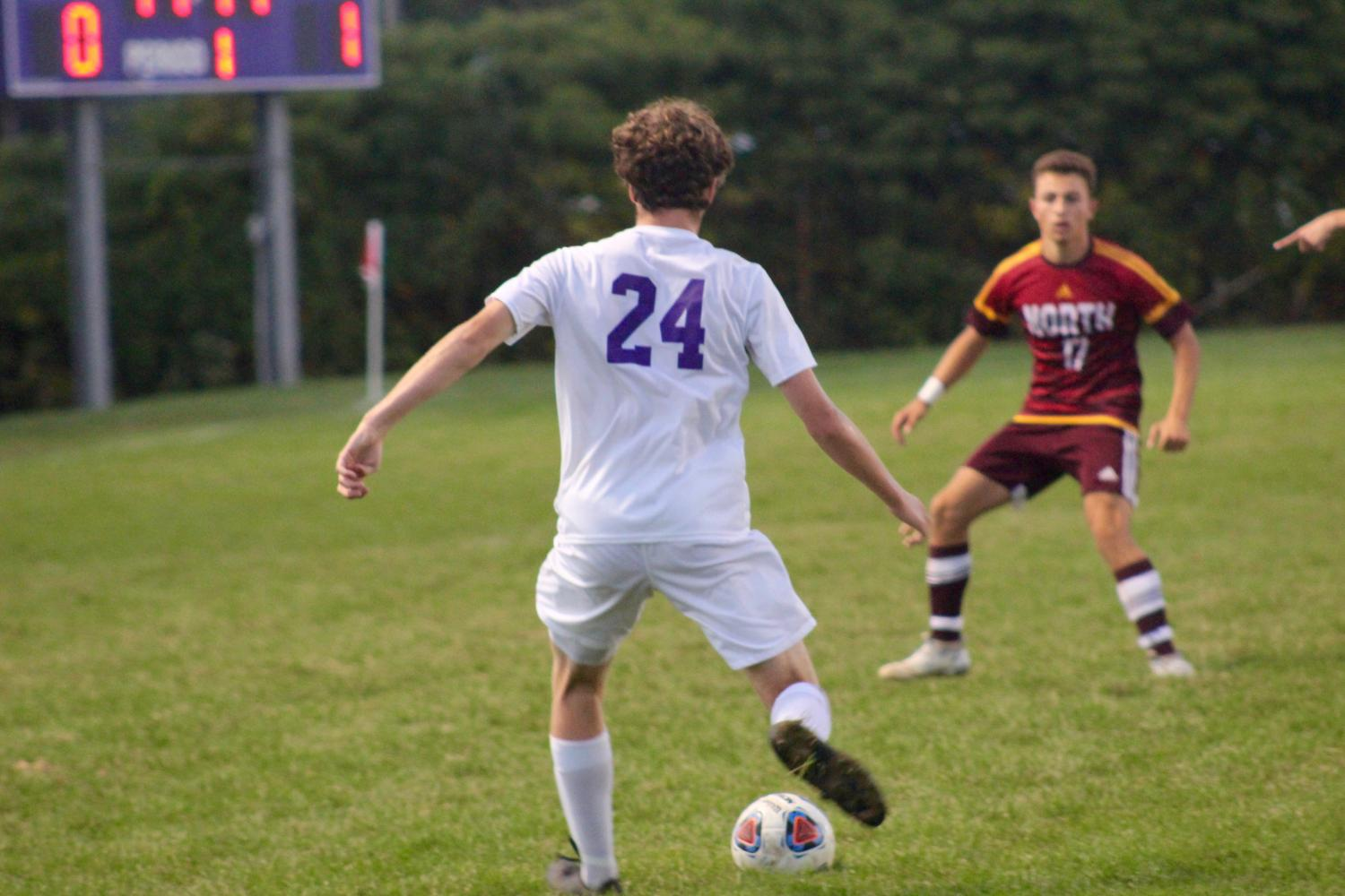 Panther soccer defeats the Cougars in crosstown rivalry match
