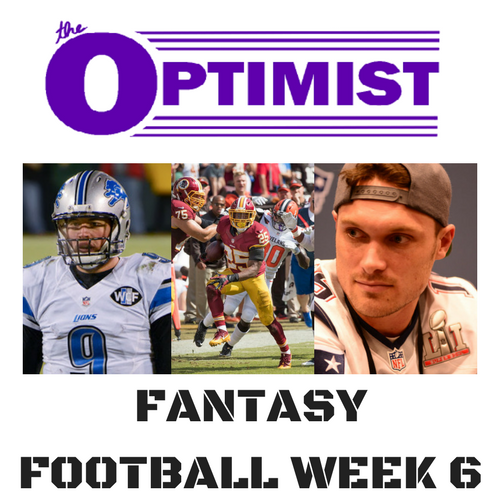 Fantasy Football: Week 6
