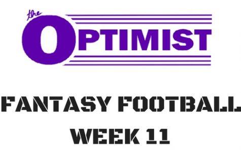 Fantasy Football: Week 11