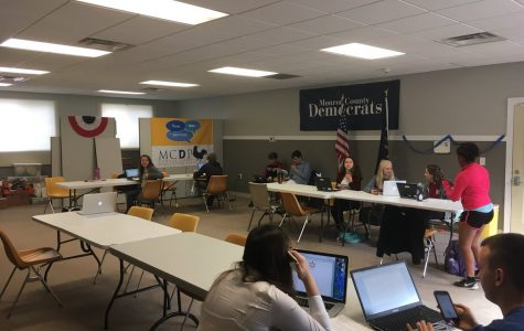 Day on, not day off for South's Young Democrats Club