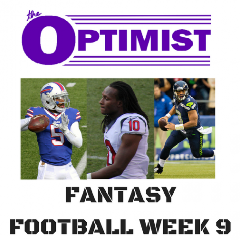 Fantasy Football: Week 9
