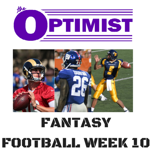 Fantasy Football: Week 10