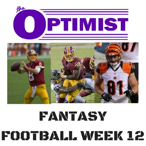 Fantasy Football: Week 12