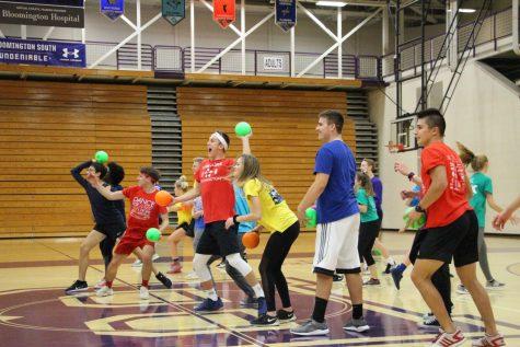 Dance marathon holds dodgeball Color Wars (Gallery)