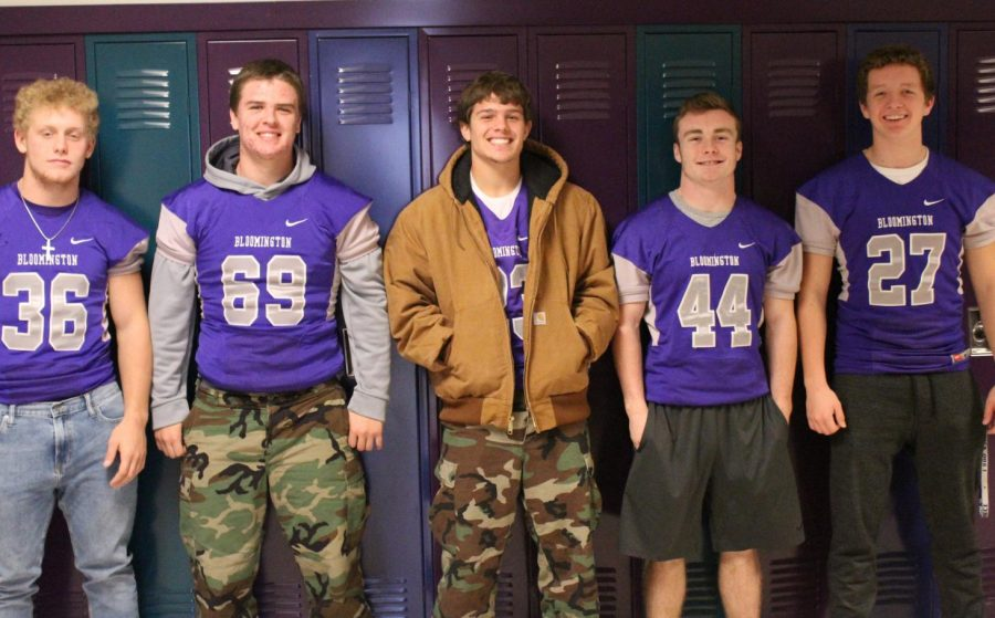 Football team gets hyped for tonights regional game