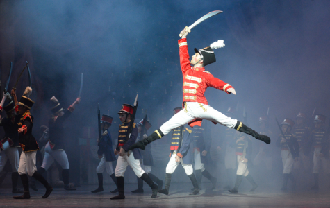 "Student Ballet Dancers in ""The Nutcracker"""