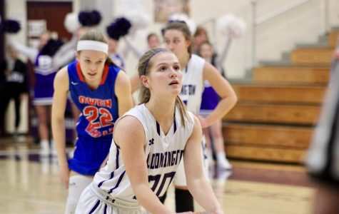 Lady Panthers hit free throws, top Patriots, 54-49