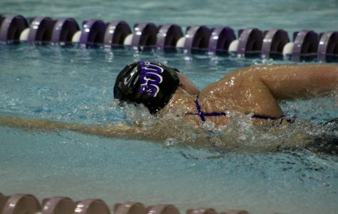 South swimmers split against Hamilton, shine at Holiday invitational.