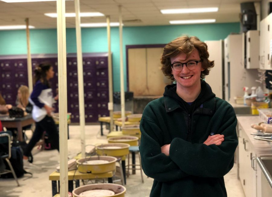 Senior Carter Makice wins Scholastic Art and Writing award