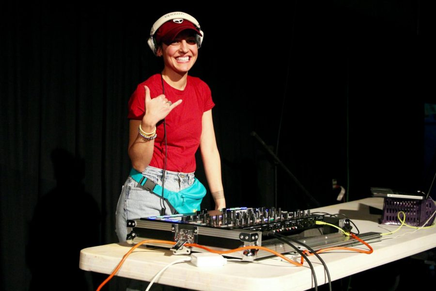 DJ Maddog, daughter of South Vice Principal Jay True, spins at many events, including Red Hot for Riley.