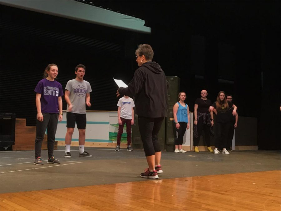Theatre South rehearses for