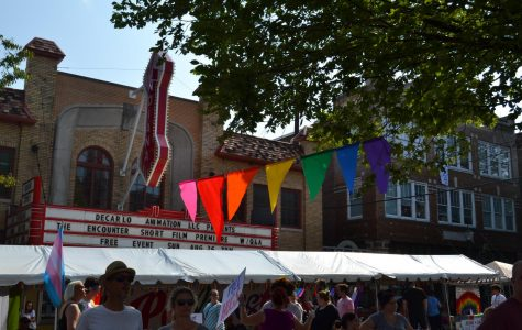 South's Proud and North's Gay-Straight Alliance Pridefest booth debut