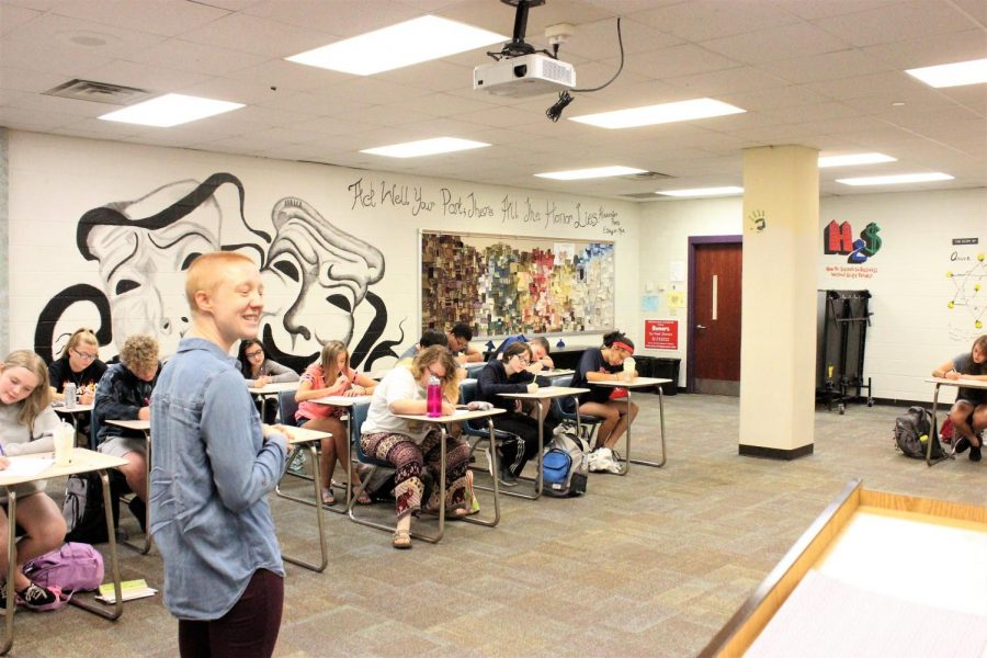 Theater class participates in Young Playwrights in Progress