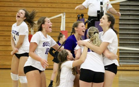 South sweeps up Patriots
