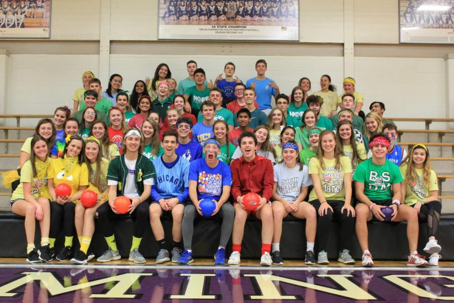 Dance Marathon hosts dodgeball